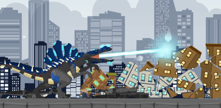 Hybrid Titan Spino: Urban Rampage apk