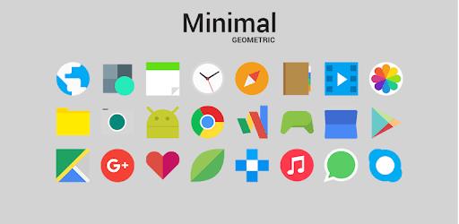 Minimal Geometric - Icon Pack apk