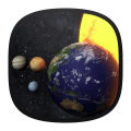 Solar System 3D Free Live Wallpaper Icon
