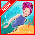 Mermaid Shark Attack : Girl Game Icon
