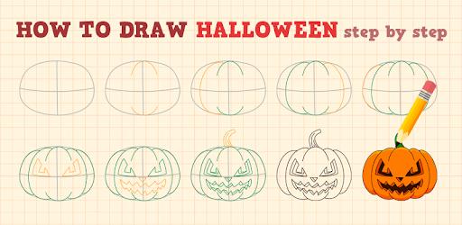 How to Draw Halloween apk