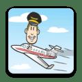 Drunk Pilot Icon