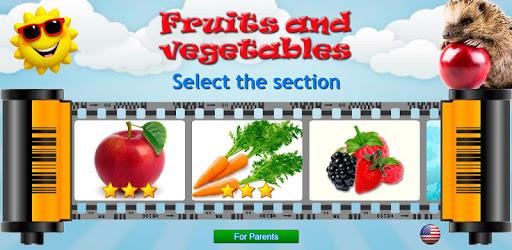 Fruits and Vegetables for Kids apk