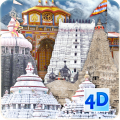 4D Char Dham Live Wallpaper Icon