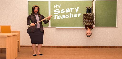 Scare Scary Evil Teacher 3D: Spooky & Creepy Games apk