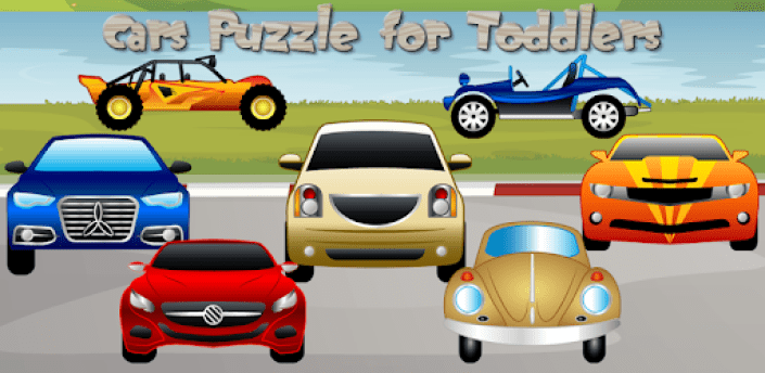 Cars Puzzle for Toddlers Games apk