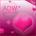 ADW Hearts Theme Icon
