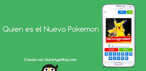 Quien es el Nuevo Pokemon apk