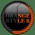 Orange Icon Pack Style 8 ✨Free✨ Icon