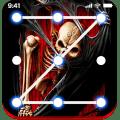 Skull Lock screen keypad Skull Lock screen pattern Icon