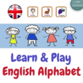 English Alphabet Learning Game for Kids Icon