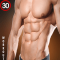 Abs Workout - Gym Six Pack 30 day Bodybuilding Icon