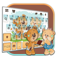 Teddy Cute Bears Keyboard Theme Icon