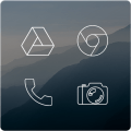 Lines Free - Icon Pack Icon