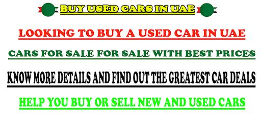 Buy Used Cars in UAE apk