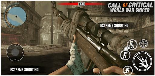 Call of Critical World War Sniper Strike Duty Game apk