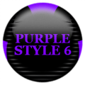 Purple Icon Pack Style 6 Icon