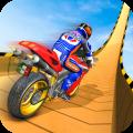 Mega Ramp Moto Bike Stunts: Bike Racing Games Icon
