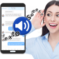 Text to Speech (TTS) - Text Reader & Converter Icon