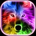 Neon Wolf Theme Icon