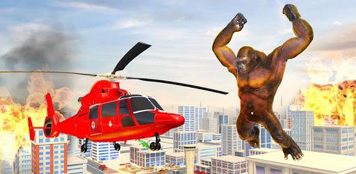 Incredible Monster Gorilla Rampage: Animal Games apk