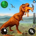 Real Dinosaur Hunter Wild Animal Hunting Games Icon