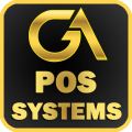 Golden Point of Sale Icon
