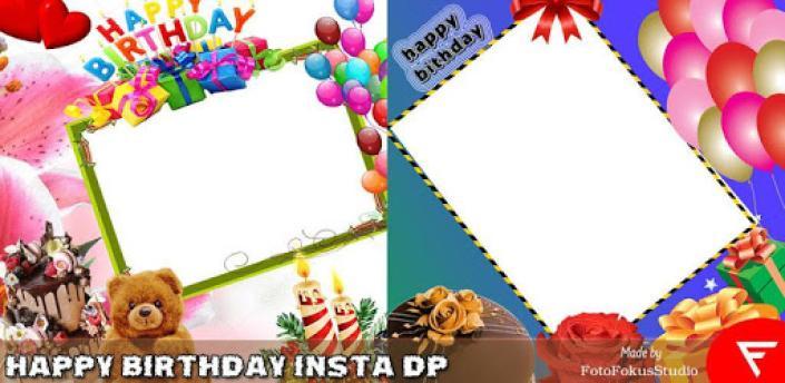 Happy Birthday Insta DP : Complete Photo Editor apk