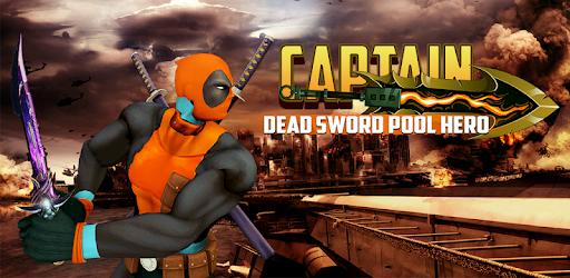 Superhero Crime City - Captain Dead Sword Pool apk