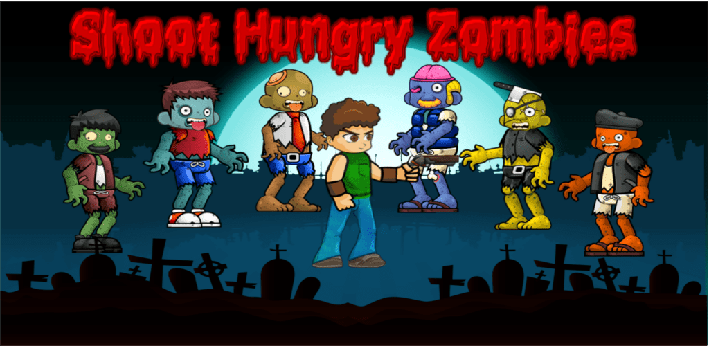 Shoot hungry zombies apk
