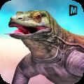 Angry Komodo Dragon: Epic RPG Survival Game Icon