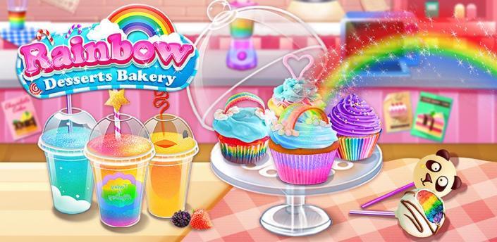 Rainbow Desserts Bakery Party apk