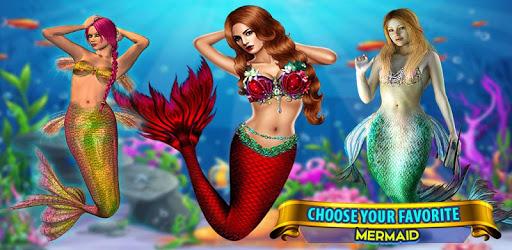 Mermaid Simulator: Underwater & Beach Adventure apk