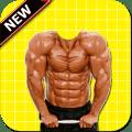 Body Builder Photo Suit Icon