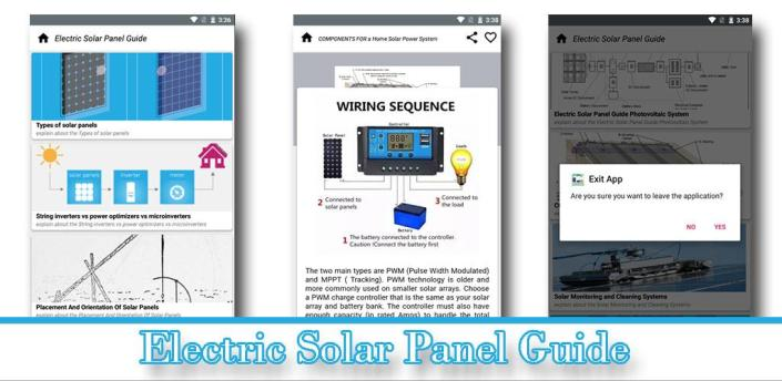 Guide to Electric Solar Panel (Books) apk