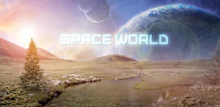 Space World Live Wallpaper Pro apk