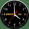 Night clock Screensaver Icon