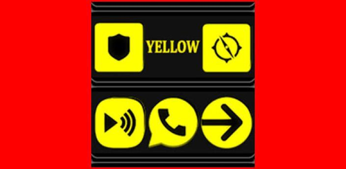 Yellow and Black Icon Pack ✨Free✨ apk