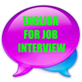 English for job interview questions and answers Icon