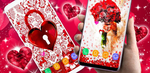 Love Live Wallpapers ❤️ 3D Hearts 4K Wallpapers apk