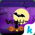 com.ikeyboard.theme.halloweenwitch Icon