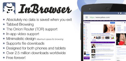 InBrowser - Incognito Browsing apk