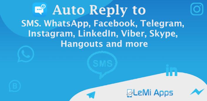 SMS Auto Reply - Autoresponder- Auto SMS Messages apk