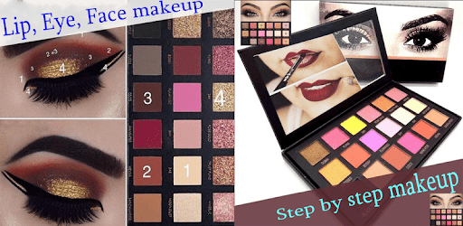 Step by step makeup (lip, eye, face) 💎 apk