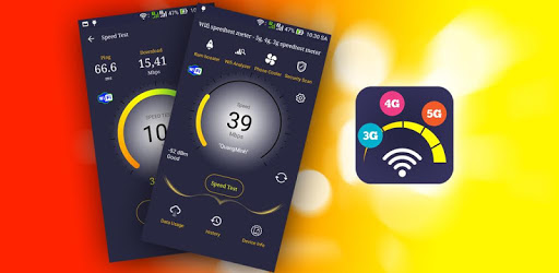 Wifi speedtest meter - 5g, 4g, 3g speedtest meter apk