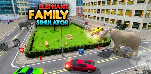 Elephant Simulator: Wild Animal Family Games apk