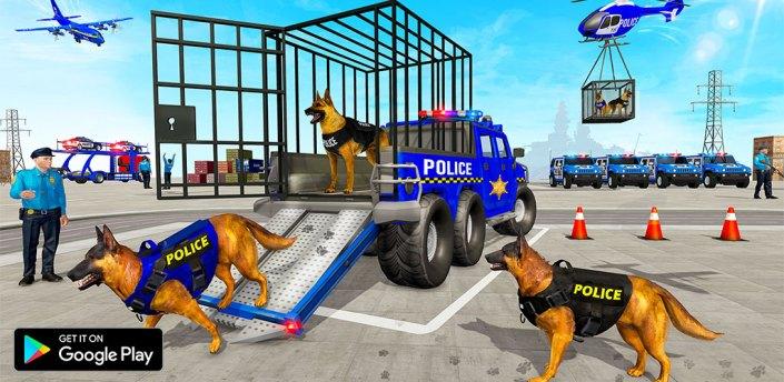 US Police Dog Transporter Truck Simulator apk