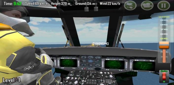 Gunship Carrier Helicopter 3D apk