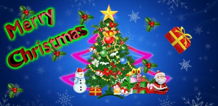 3D Christmas tree LWP apk