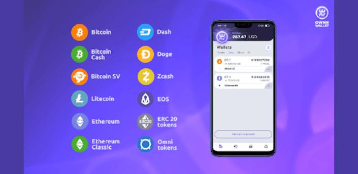 OWNR Bitcoin wallet and Visa card. Ethereum, BTC apk